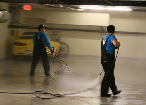 Commercial Pressure Washing Photo