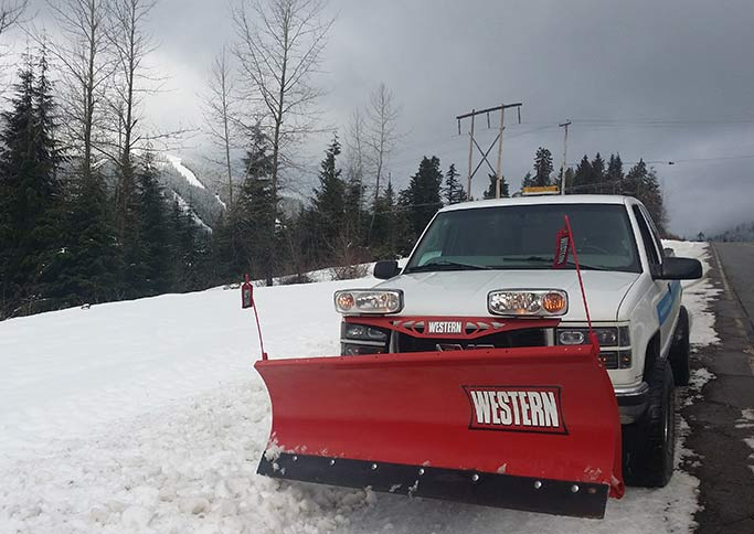 Commercial Snow Removal Photo